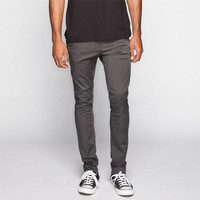 Rsq London Mens Skinny Chino Pants Heather Grey  In Sizes