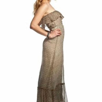Gypsy 05 Fiona Tube Maxi Dress in Olive