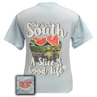 Girlie Girl South Slice of the Good Life Comfort Colors T-Shirt