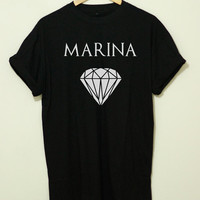 Marina and The Diamonds Shirt Marina and The Diamonds T Shirt CS-MarinaTheDiamods