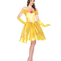 Disney Princess Belle Adult Womens Costume