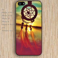 iPhone 6 case watercolor dream catcher iphone case,ipod case,samsung galaxy case available plastic rubber case waterproof B223