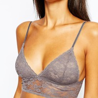 Monki Lace Soft Cup Bra