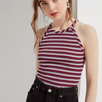 Urban Renewal Remnants Striped Tank Top   Urban Outfitters Canada