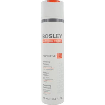 Bos Revive Nourishing Shampoo Visibly Thinning Color Treated Hair 10.1 Oz