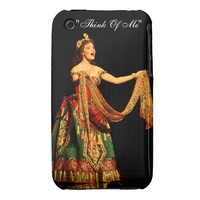 """""""think of me"""" sierra boggess phone case iPhone 3 Case-Mate cases from Zazzle.com"""