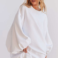Silence + Noise Anna Oversized Sweatshirt Dress | Urban Outfitters