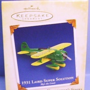 2005 Laird 1931 Super Solution Hallmark Retired Ornament