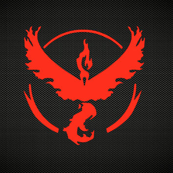 Team Instinct | Team Mystic | Team Valor | Pokemon Go Team Decal | Pokemon Go Club Teams Gyms | Pokemon Blue Yellow Red Zapdos Decal | 375