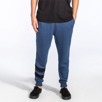 Hurley Active Block Party Retreat Mens Sweatpants Heather Navy  In Sizes