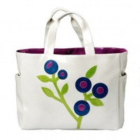 Huckleberry Carry All Tote - Pearl