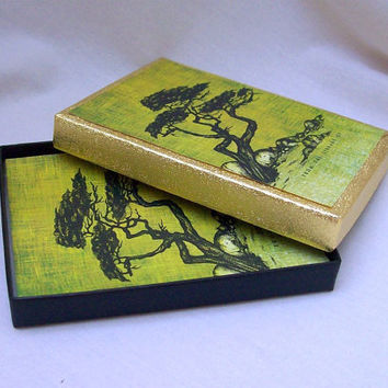 Vintage Bookplates with Tree Sketch  in by 4oldtimesandnew on Etsy