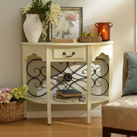 Cream Addison Console | Kirklands