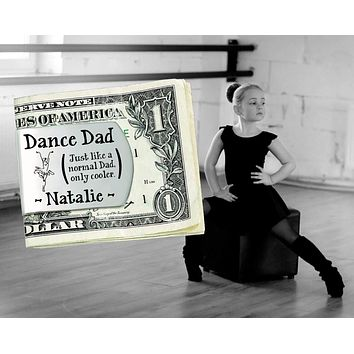 Dance Dad Personalized Money Clip