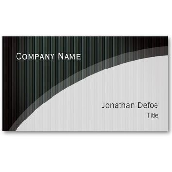 Classy Elegant Professional Business Card from Zazzle.com