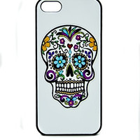 Sugar Skull Cell Phone Mobil Protective Case iPhone 5