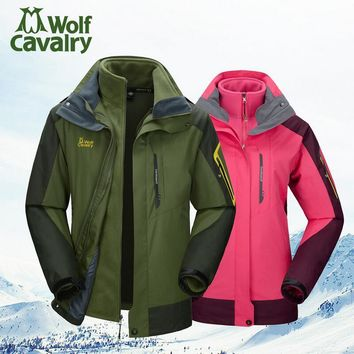 Outdoor winter jackets for men women's coats waterproof hunting clothing mountaineering camping Walking and hiking jackets