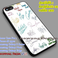 Disney All Character Signature iPhone 6s 6 6s+ 6plus Cases Samsung Galaxy s5 s6 Edge+ NOTE 5 4 3 #cartoon #disney #animated #disneycastle dl5