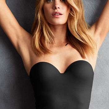 Seamless Little Crop Bustier - Body by Victoria - Victoria's Secret