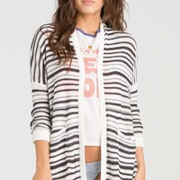 Billabong - Outside The Lines Cardigan | Black/White