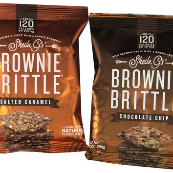 Brownie Brittle Chocolate Chip Variety Pack 20 Count