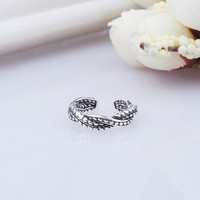 Jewelry Shiny New Arrival Gift 925 Silver Twisted Accessory Korean Stylish Fashion Ring [7652916807]