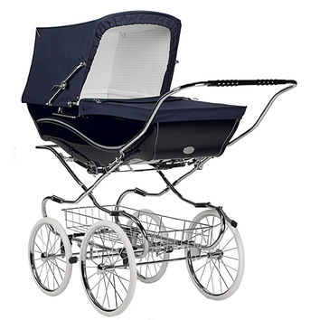 Silver Cross Kensington Pram in Navy