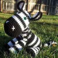 Amigurumi Zebra - Stuffed Animal Squishy