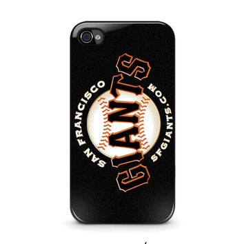 SAN FRANCISCO GIANTS 2 iPhone 4 / 4S Case Cover
