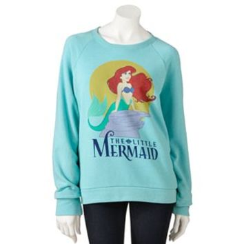 Mighty Fine The Little Mermaid Sweatshirt - Juniors