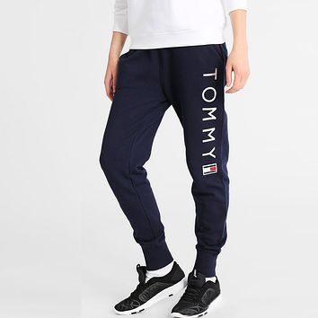 Tommy Hilfiger Women Fashion Sport Pants Trousers Sweatpants