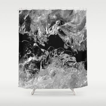 Frozen Illusion Shower Curtain by Cinema4design | Society6