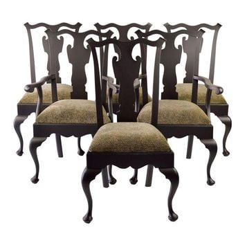Shop queen anne chair on wanelo for Modern queen anne furniture