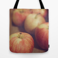 Apples Tote Bag by Dena Brender Photography