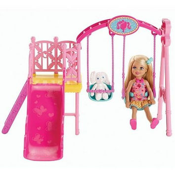 Barbie - Chelsea Doll and Swing Set