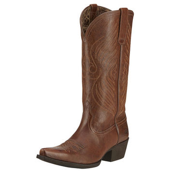 Ariat Womens Round Up X Toe Cowgirl Boot