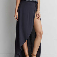 AEO SOFT & SEXY WRAP MAXI SKIRT