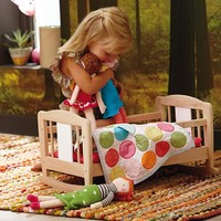 Doll World Cradle and Bedding