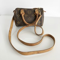 Authentic LOUIS VUITTON Mini Speedy With Strap