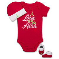Infant Jordan Love Is In The Air 3-Piece Set