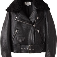 Acne Studios Mape Leather Jacket | La Garçonne