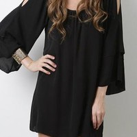 Black Glam Dress