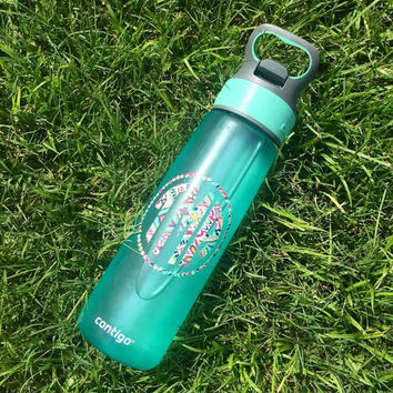 "Camelback/Contigo style Water Bottle 3"" Lilly Pulitzer Inspired DECAL ONLY"