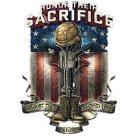 "Honor Their SACRIFICE Comfort Their Beloved Left Behind""American pride tshirt,gift for war hero,military,soldier courage,gift for veteran"