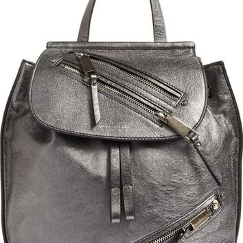 MARC JACOBS Metallic Leather Backpack | Nordstrom
