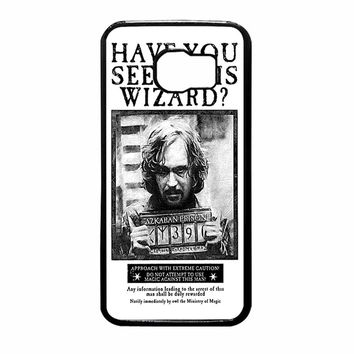 Sirius Black Wanted Poster Samsung Galaxy S6 Case