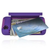 Incipio IPH-679 Stowaway Credit Card Case for iPhone 4/4S - Retail Packaging - Dark