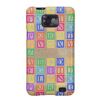Block Letters Case-Mate Samsung Galaxy S2