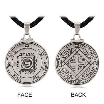 Ultimate Love Talisman Venus Pentacle Key of Solomon Seal Pendant Necklace Hermetic Enochian Kabbalah Pagan Wiccan Jewelry