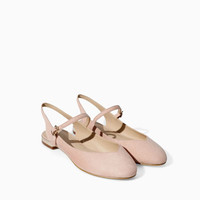 SLING BACK BALLERINA SHOES